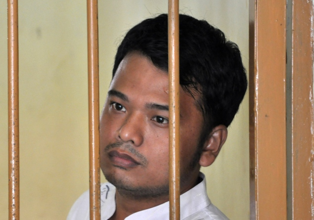 "Alexander Aan, jailed for ""insulting"" religion, Indonesia"