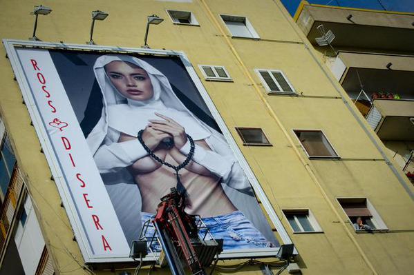 topless-nun-billboard