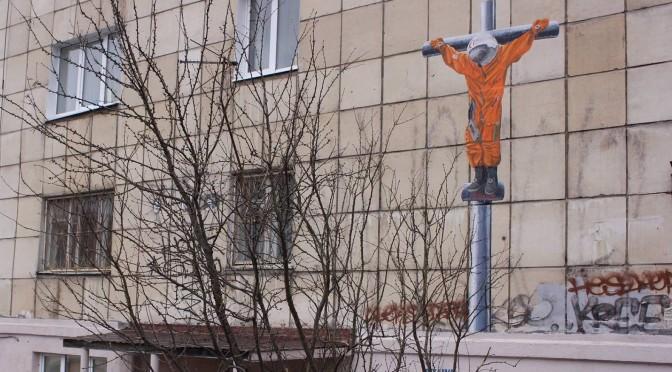 """Zhunev's potentially """"blasphemous"""" Juri Gagarin mural"""