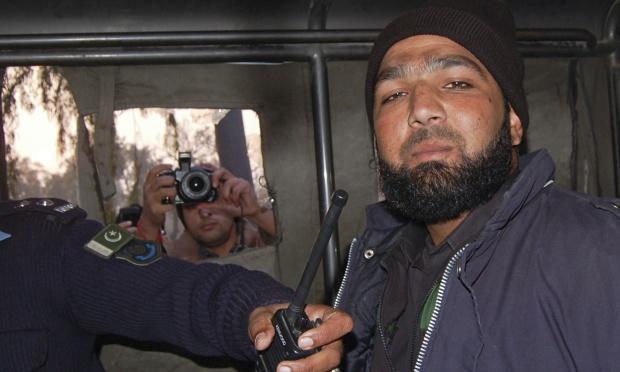 The murderer, Mumtaz Qadri, celebrated as a hero by too many in Pakistan