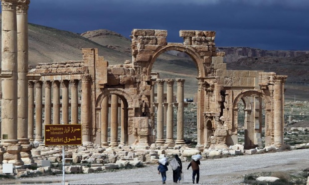 The ancient city of Palmyra