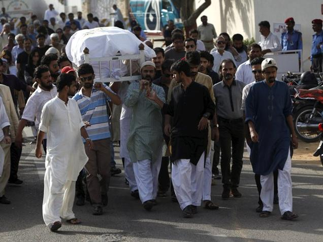 Sabeen Mahmud, murdered last Friday, was laid to rest on Saturday