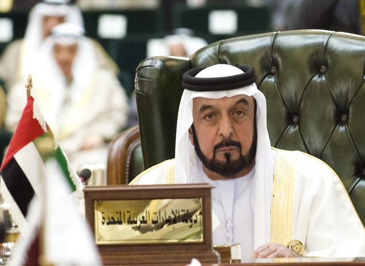 United Arab Emirates President Sheikh Khalifa bin Zayed al-Nahyan