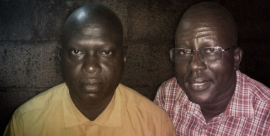 Presbyterian pastors Yat Michael Ruot (left) and Peter Yein Reith face the death penalty in Sudan.