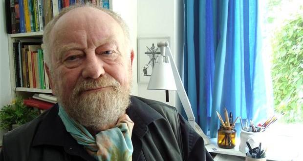 Kurt Westergaard, now 80 years old