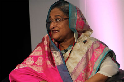 Prime Minister Sheikh Hasina of Bangladesh